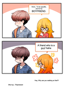 3. Boyfriend by IMLazyCat