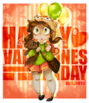 Happy Valentines Day by Ovelayotli
