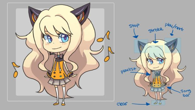 SeeU FLELE shell by hakei