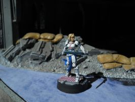 Infinity the Game: Pan-O, Joan of Arc LE by SephKnight