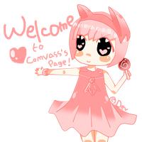 OC : Welcome to My Page! Chibi by ComvassArt