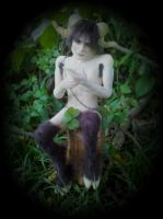 Male Faun Full by LindaJaneThomas