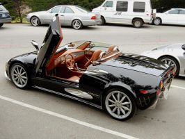 Spyker C8 Spyder Pebble Beach by Partywave
