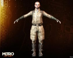 Pavel Igorevich Morozov [ METRO LAST LIGHT ] by Goreface13