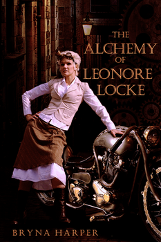 Book Cover - The Alchemy of Leonore Locke by BrynaHarper