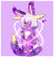 Galaxy Winged Bella ADOPT OPEN $15 by Desuthis
