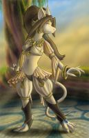 Cleyran Dancer by wytwolf