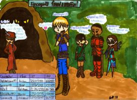Final Fantasy:TheMisadventures by fencergirl00