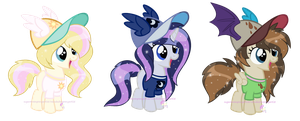 Fan fillies for Raindasherponyartist by SugarMoonPonyArtist
