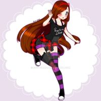Oc by Hatsune by Eve--chan
