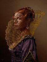 The Gilded Cage Woman Costume Rene Milot by ReneMilot