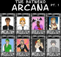 The Tarot of Batneko pt. 1 by ShiningThanatos
