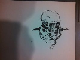 SketchingSkulls 01 by Ubermonster