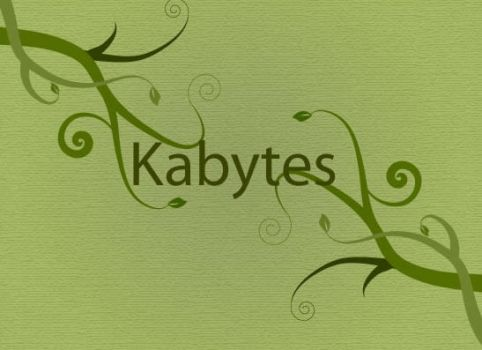 Swirly composition by Kabytes