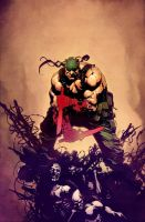 Deathblow Chuckdee2 by SpicerColor