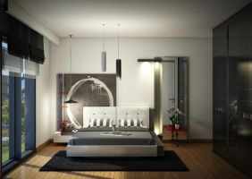 interior.Bedroom01 by pitposum