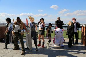 Final Fantasy VII cosplay by KrabbyCrabtastic