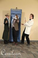 Doctor Who Photoshoot: The Three 11th Doctors by StrangeStuffStudios
