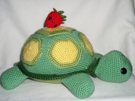 turtle plush for cargirl64 by MasterPlanner