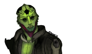 Thane Krios by MEWOAH