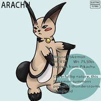 Fakemon_Arachu by EmeraldSora
