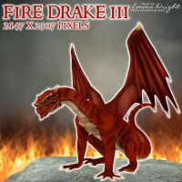 Fire Drake 3 by zememz
