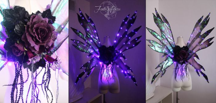 Purple LED Wings by Firefly-Path