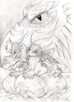 Baby dragons by VictoriaMorris