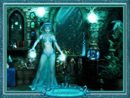 Aquamancer by DesignsByEve