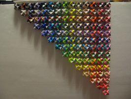 Origami rainbow by ninjakitty94
