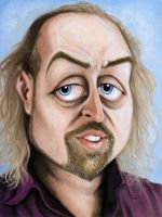 Caricature: Bill Bailey by Elusive-Angel