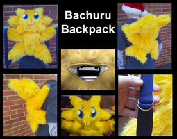 Bachuru Backpack by Tez-Taylor