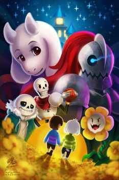 Undertale by TsaoShin