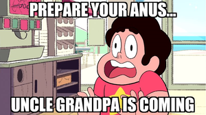 Steven Universe/Uncle Grandpa Crossover meme by Broxome