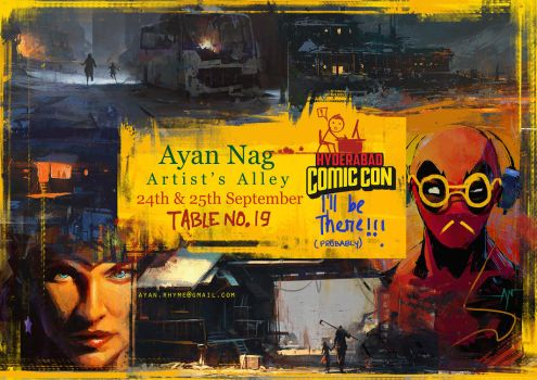 Hyderabad COMIC CON!!!!!! by crazypalette