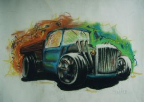 Hot Rod 2 by theinkowl