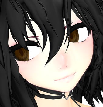 MMD Eye Texture [Carrot] 5 Colours by StrikingHope