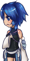KH Chibi Series: Aqua by Cicre