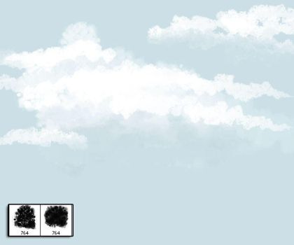 Cloud Brushes - Painterly by slizzie