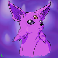 Espeon + Video by SqueekyClean-801