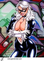 Black Cat 10 by Garrett Blair by Mythical-Mommy