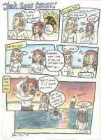 Capn Jack goes Crazy by HapyCow