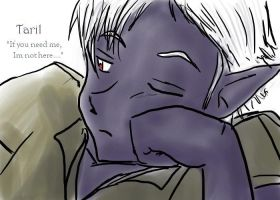 And what is the drow doing? by yoski