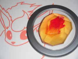 Flareon Evolution Stone, Fire Stone by ChinookCrafts