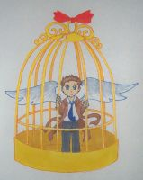 On a Caged Angel's Wings by Inari-chan725