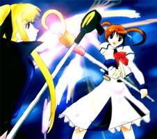 Nanoha Fate Clash by wizard898