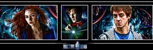The Doctor and Companions by Nero749