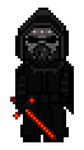 Star Wars: The Force Awakens: Kylo Ren Pixel by fORCEMATION