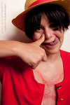 .Goofy Luffy. by Spilled-Sunlight
