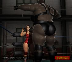 Before the match - intimidating your opponent by theamazonclub